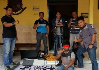 Tim Gabungan Bekuk Pencuri Rumah Kosong di Malam Pergantian Tahun