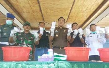 Polres Kotawaringin Timur Juara Pertama dalam Penanganan Narkoba di Kalimantan Tengah