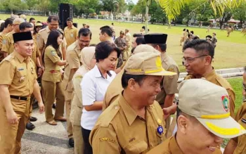 Dua Pejabat Eselon II Pemprov Kalteng bakal Maju di Pilkada, Diceletuk Saat Apel