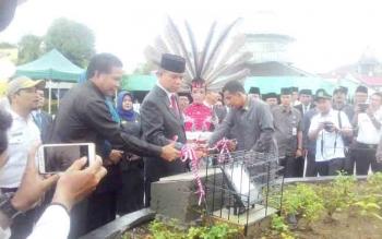 Bupati resmikan Tugu Adipura Pertama di Kuala Kapuas