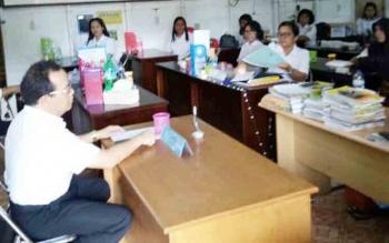 Hari Pertama Aktif Belajar, Dinas Dikbud Lamandau Sidak Sekolah di Dua Kecamatan