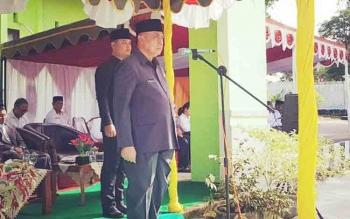 Sekda Arifin Jadi Inspektur Upacara Peringatan HAB Ke-72 Kemenag Lamandau