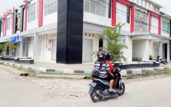 Belum Semua Blok di Pasar Baru Kuala Kurun Ditempati Pedagang