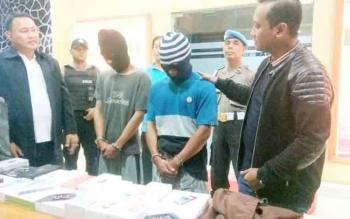 Pelaku Pencurian Ditangkap di Dua Tempat Berbeda