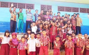 Kepala Dinas Pendidikan Barito Utara Pantau Sekolah Pinggiran