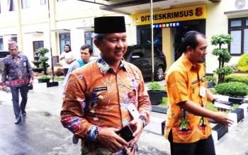 Wali Kota Palangka Raya Diperiksa Penyidik Tipikor Polda Kalteng