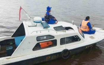 Pria yang Tenggelam di Sungai Mentaya Samuda Belum Ditemukan