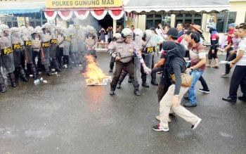 """""""Ketua KPU Gunung Mas Diculik"""", Polres Sigap"""
