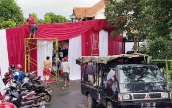 Rumah Ivo Bersolek Jelang Kedatangan Gubernur Kalteng