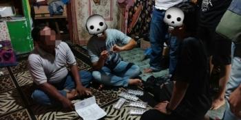 Pengedar Zenith Yang Ditangkap di Flamboyan Bawah Ternyata Sekretaris RT