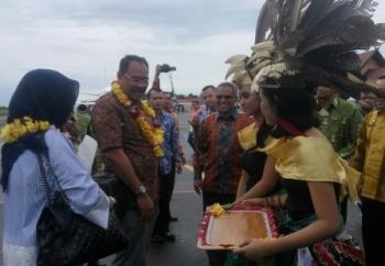 Wakil Ketua BPK RI Kunjungi Pangkalan Bun Untuk Ziarah ke Makam Abdullah Zainie