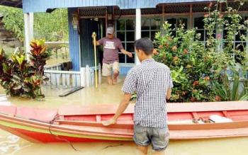 Hujan 8 Jam Penyebab Banjir yang Rendamkan 63 Rumah