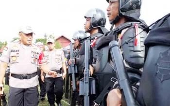 Polda Kalteng Kerahkan 2.252 Personel Bantu Amankan Pilkada Serentak