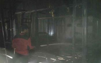 5 Barakan di Jalan H Udan Said Pangkalan Bun Terbakar