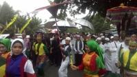 Hujan Gerimis Iringi Ben-Nafia Mendaftar ke KPU