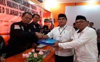 Nampung-Budi Santoso Pendaftar Ke-5 ke KPU Palangka Raya dari Jalur Independen