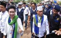 Tuty Dau-Rahmadi Susul Fairid Naparin-Umi daftar ke KPU Palangka Raya