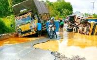 Jalan Rusak Ruas Kuala Kurun-Palangka Raya Harus Cepat Ditangani