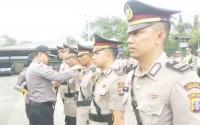 Tiga Perwira di Polres Kotim Emban Tugas Baru