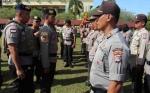 Kapolda Kalteng Cek Kesiapan Personel Pengamanan Pilkada Serentak 2018