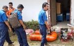 BPBD Palangka Raya Punya Mesin Pemadam Apung