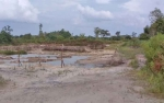 Baliho Peringatan Tambang Ilegal Yang Dipasang DLH Sukamara Hilang Dicopot