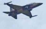 Langit Pangkalan Bun Kembali Dilintasi Jet Tempur Hawk 100/200