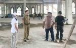 Bupati Nadalsyah Tinjau Pembangunan Islamic Center