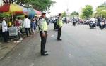 Jajaran Polres Barito Utara Berjaga di Sejumlah Masjid Saat Salat Jumat
