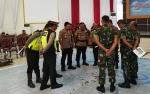 TNI-Polri Rapat Pengamanan dan Pengawalan Tamu VVIP Pernikahan Gubernur Kalteng