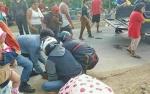 Tabrak Mobil Berhenti, Rahmad Hidayat Terpental dan Disambar Strada