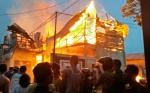 Ini Data Sementara Jumlah Bangunanyang Terbakar di Teluk Dalam