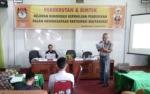 25 Relawan Demokrasi Punya Tugas Tingkatkan Partisipasi Pemilih di Pilkada Palangka Raya