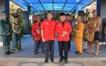 Megawati Soekarno Putri dan Menteri Puan Maharani Tiba di Palangka Raya