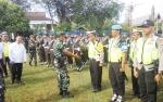 Pangdam XII/Tpr Pimpin Apel Pengamanan Wakil Presiden yang Akan Hadir di Pernikahan Gubernur Kalteng