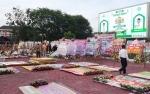 Ratusan Karangan Bunga Tumpah Ruah Depan Istana Isen Mulang