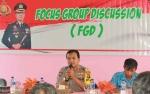 Kapolres Lamandau Hadiri Acara FGD di Desa Perigi Raya