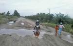 Jalan Kereng Pangi-Baun Bango Hancur