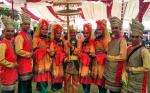 Tari Manimang sebagai Doa untuk Gubernur Kalimantan Tengah
