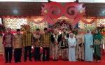 Dekorasi Pelaminan Pernikahan Gubernur Kalimantan Tengah Jadi Inspirasi Warga