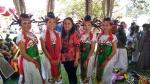Sanggar dari Katingan Tampilkan Satu Tarian di Resepsi Pernikahan Gubernur