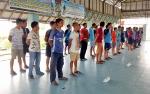 Bupati Sukamara Minta Disporapar Perhatikan Sarana Prasarana Olahraga di Jelai