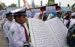24 Peserta Ramaikan Pawai Taaruf MTQ ke-49 Kecamatan Ketapang