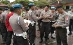 Propam Polres Barito Utara Periksa Kelengkapan dan Sikap Tampang Personel