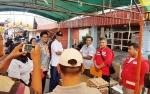 Korban Kebakaran Taluk Dalam Dapat Bantuan Dari PMI