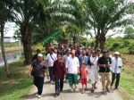 Puluhan Panitia Lakukan Pemeriksaan Terakhir di Sekitar Lokasi Safari Dakwah Ustaz Abdul Somad