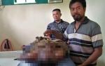 Pembuluh Darah Pecah, Herman Meninggal di Toko Bawang