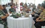 Kapolda Kalteng Silaturahmi ke Korem 102 Panju Panjung