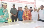 Bupati Ben Brahim Resmikan Sejumlah Proyek Pembangunan  di Kecamatan