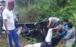 Polisi Cari Saksi Mata Kecelakaan Maut Truk vs Pikap di Pundu